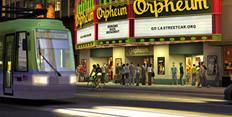 LA Streetcar (Night)