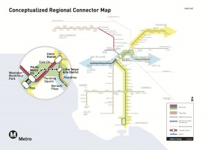 Conceptualized Regional Connector Map