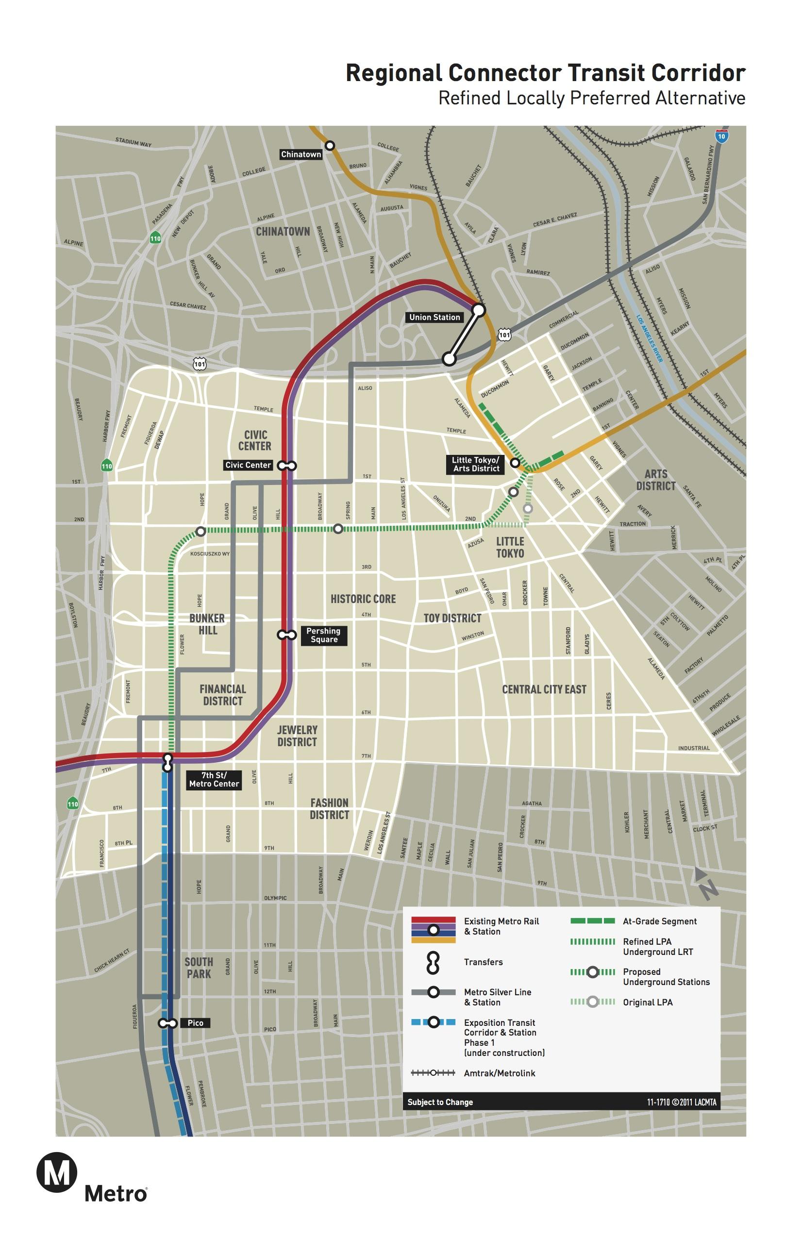Regional Connector Transit Corridor