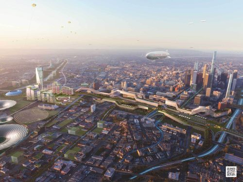 Union Station Master Plan - Gruen Associates/Grimshaw Architects
