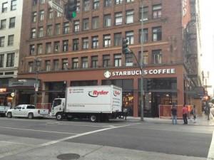 Starbucks on Spring Street