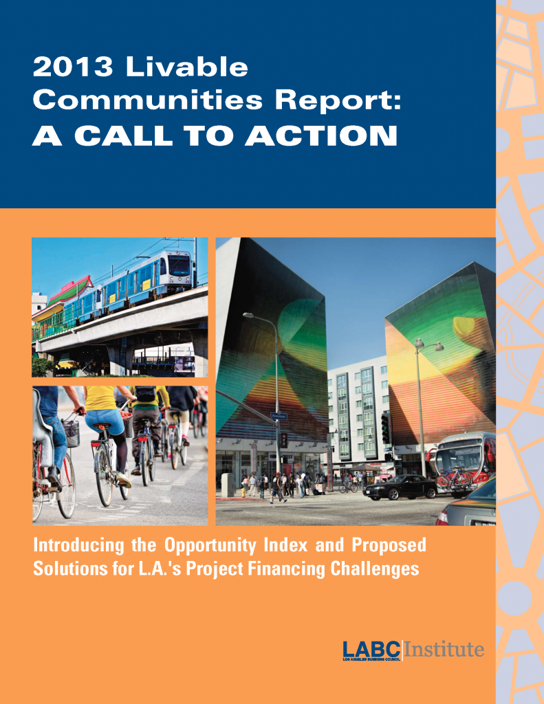 2013 LABC Livable Communities Report