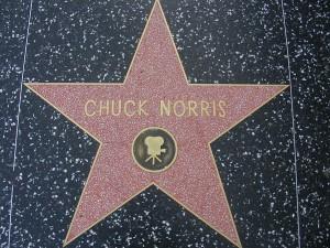 Chuck Norris Star