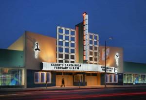 Hollywood Palladium (at night)