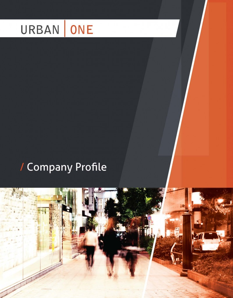 Urban One Mgmt Company Profile Cover Page